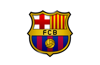Barcelona Football Club logo mockup