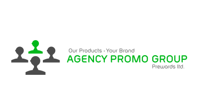 Agency Promo Group : promotional products, custom apparel, tradeshow displays/signage, and print provider logo design