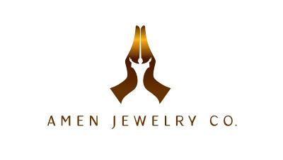 logo emblem symbol logotext design for Religious based jewelry