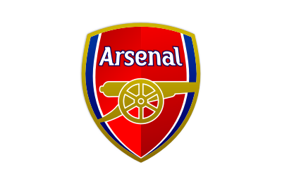 Arsenal logo mockup