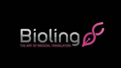 logo emblem symbol logotext design for Medical translation service
