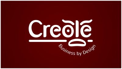 logo emblem symbol logotext design for Creole Consulting business in New Orleans