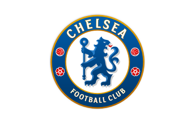 Chelsea Football Club logo mockup