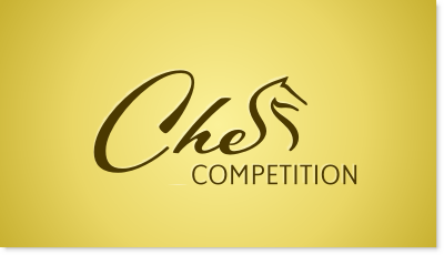 Chess Competition logo design