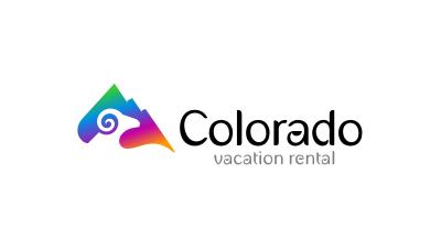 logo emblem symbol logotext design for Colorado Vacation Rental