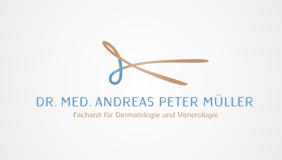 dermatologist and venereologist based in Switzerland near Zurich logo design