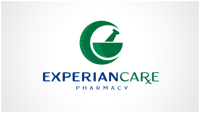 logo emblem symbol logotext design for A pharmacy conducted by Kamilah Brown in Houston, Texas