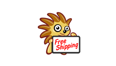 Toy online store cartoon mascot