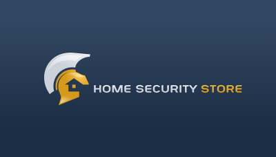 an e-commerce website for home security systems, surveillance, home automation, and other security related products logo design