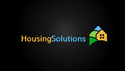 Housing Solutions : Ithaca, NY based business that lists local area housing for rent logo design