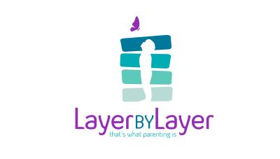 logo emblem symbol logotext design for Parenting tips website