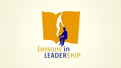 logo emblem symbol logotext design for Leadership event