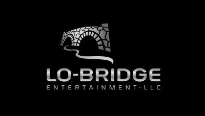 logo emblem symbol logotext design for Record label