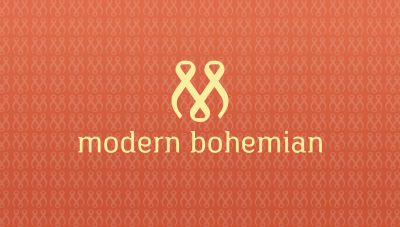 Woman fashion targeting Bohemian logo design