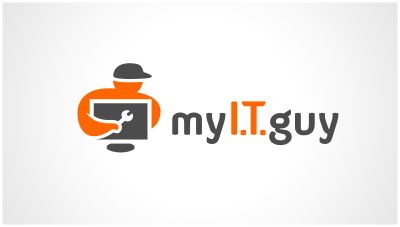 logo emblem symbol logotext design for Computer repair and services