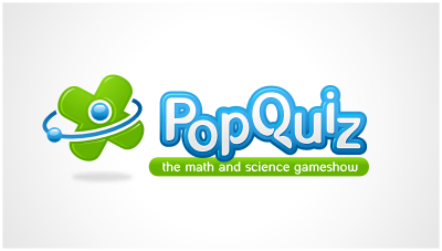 logo emblem symbol logotext design for Student Math and Science Gameshow