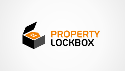 logo emblem symbol logotext design for Property security and insurance