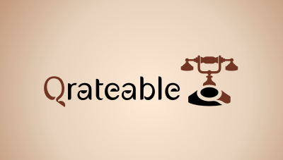 Qrateable : mobile device guides for curated collections in galleries, museums and other venues for everyone from afficionados to kids logo