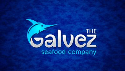 logo emblem symbol logotext design for Seafood market and restaurant