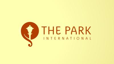 logo emblem symbol logotext design for International 3 stars hotel