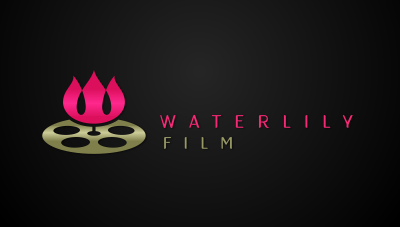 logo emblem symbol logotext design for Spanish film and movie production